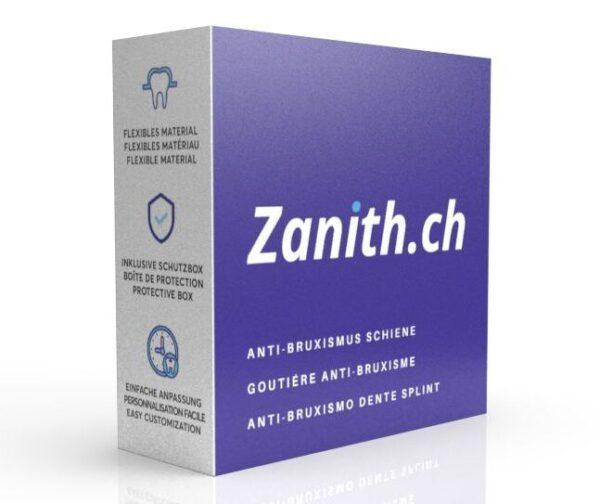 Zanith Knirscherschiene Schachtel